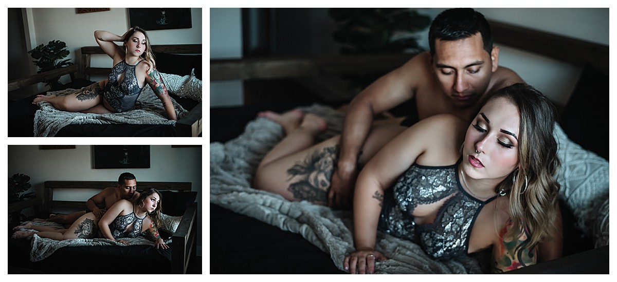 Biloxi Christmas Couple's Boudoir Photography